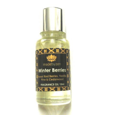WINTER BERRIES - Signature Scented Fragrance Oil Made By Zen 15ml